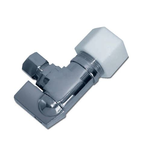 Faucet Compression Fitting by Push N Turn 3 8 In X 1 2 In Dia Pex Angle Supply Valve
