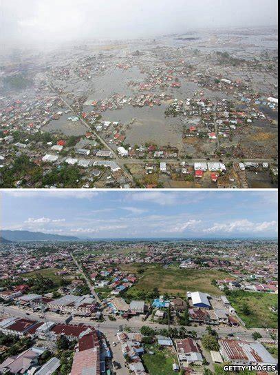 detik tsunami aceh 7 foto menarik perubahan di aceh ketika diterjang tsunami