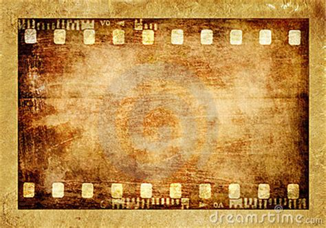 aged wallpaper with film strip border stock illustration old film strip royalty free stock photography image 9821587