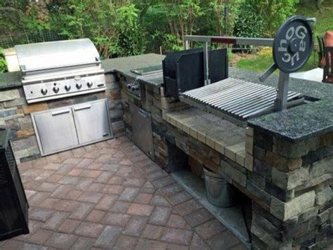 custom backyard bbq grills custom countertop parrilla grill insert outdoor grills philadelphia by gaucho grills