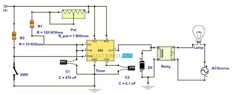 time delay relay wiring traffic signal wiring diagram