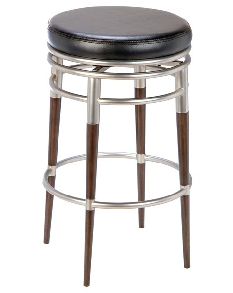 beautiful bar stools furniture beautiful bar stool ideas furniture brown and silver stainless steel backless bar