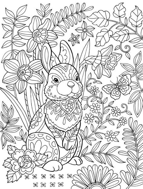 printable spring coloring pages for adults easter coloring pages for adults best coloring pages for