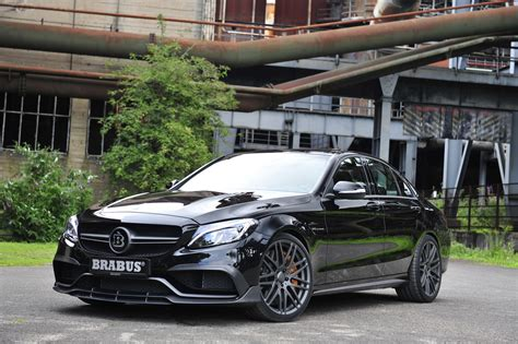 Auto Bild 09 2015 by Brabus Dopează Sportivul Mercedes Amg C63 S Headline