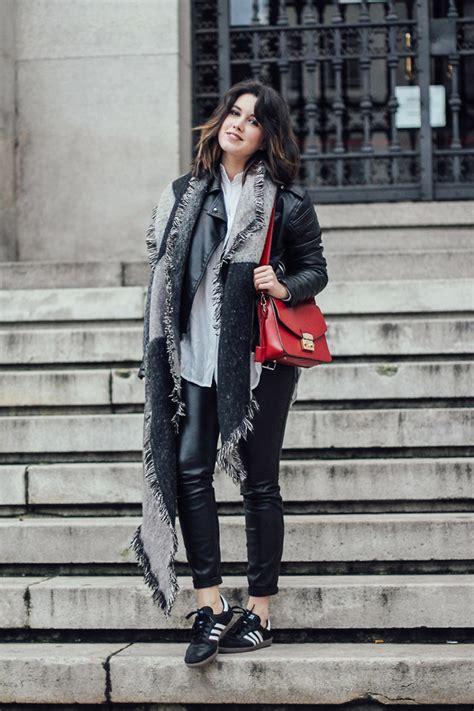 Zara Metropolis iria lata tricot biker furla bag zara leather adidas samba leather
