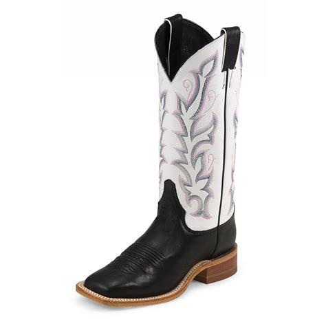 justin boots womens s justin 174 13 quot bent rail calf boots 582153 cowboy