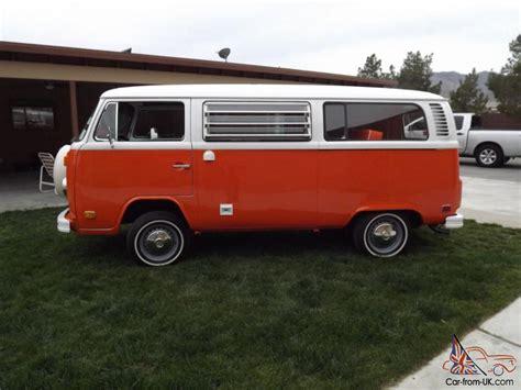 1974 volkswagen bus 1974 classic vw bus westfalia tintop weekender cer
