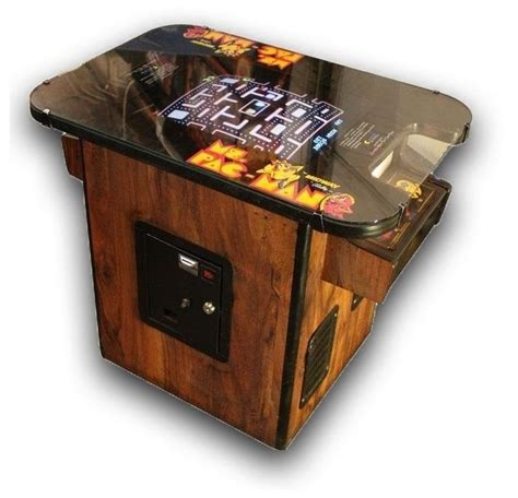 cocktail table arcade for sale vintage ms pac cocktail table arcade for