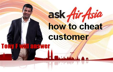 airasia ask airasia is a cheat so is tony fernandez part 2