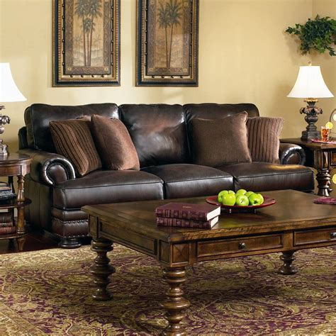 bernhardt furniture foster leather sofa bernhardt foster stationary sofa johnny janosik sofas