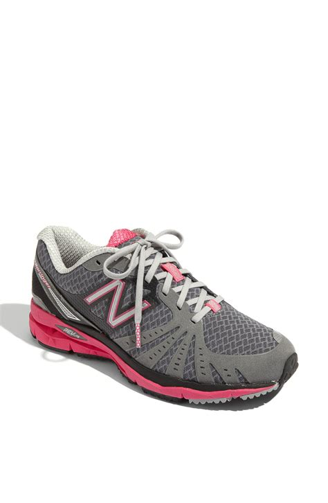 new balance 890 running shoe in gray grey lyst