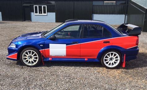 mitsubishi evo 6 rs for sale mitsubishi evo 6 rs rally car jason lepley motorsport
