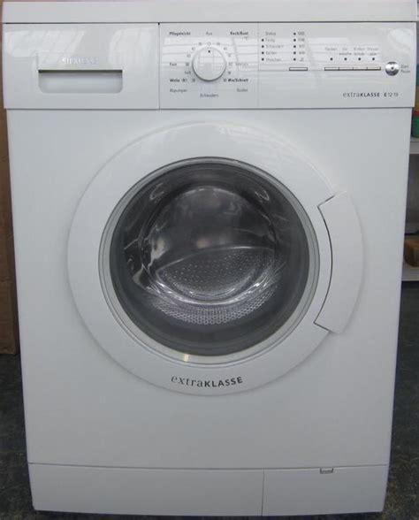 neue waschmaschine kaufen siemens extraklasse e 12 19wm12e190 kostenlose lieferung