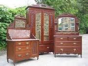 solid walnut edwardian bedroom suite antiques atlas