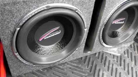 price on 2 by 12 by 8 at lowes audiobahn 12 quot sound aw1251j subwoofers hifonics bre1100 1d