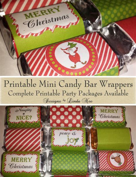 printable christmas hershey bar wrappers candy bar wrappers santa christmas mini hershey bar