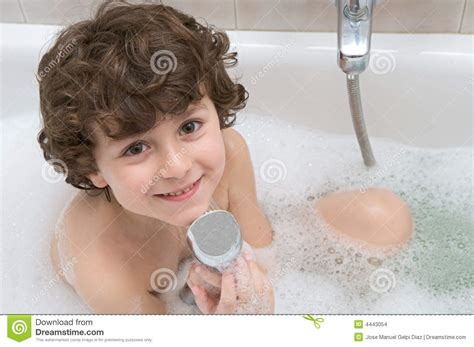 In The Bathtub by Child In The Bath Stock Images Image 4443054