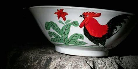 Mangkok Ayam Merah Mangkok Bakmie Bubur Mangkok Keramik Mangko sejarah dan makna ayam merah yang ada di mangkok ayam