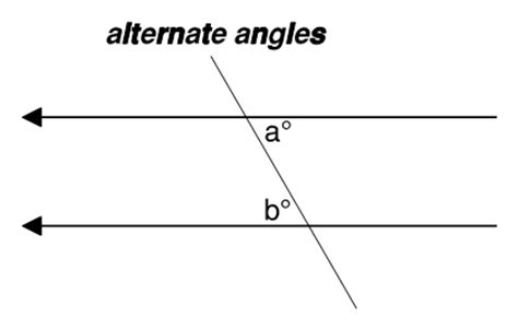 What Is A Alternate Interior Angle by 2 Pairs Of Alternate Interior Angles Pictures To Pin On