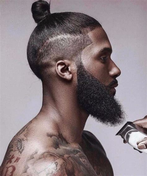 top knot hairstyle men 45 outstanding black men hairstyles menhairstylist com