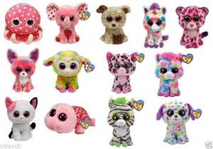 2013 releases ty beanie boos boo choose 6 quot character soft plush toy ebay