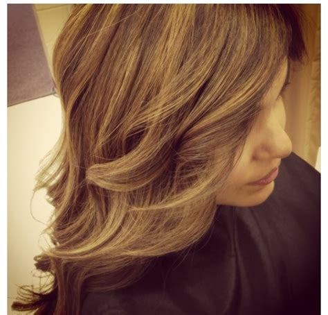 blonde highlights with caramel lowlights natural hair color honey brown with light caramel