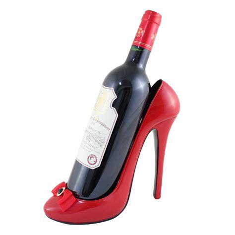 high heel wine holders bow wine bottle holder high heel shoe ebay