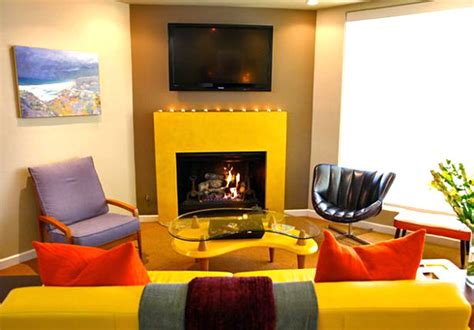 mustard living room vivid design top color trends for 2013