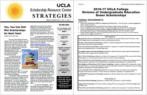 Ucla Transfer Letter Of Recommendation Scholarship Resource Center Of California Los Angeles