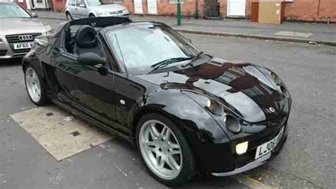 smart car roadster for sale smart 2006 roadster brabus auto black car for sale