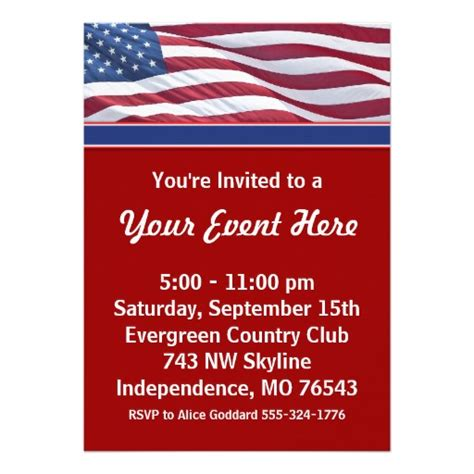 Political Fundraiser Invitation Template Invitation Template Political Fundraiser Flyer Template
