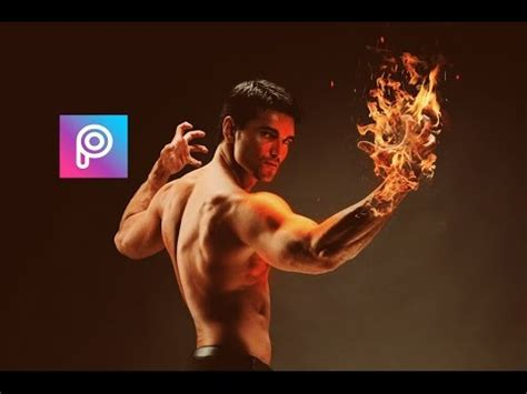 tutorial instagram in hand picsart fire on hand picsart picsart tutorial picsart editing