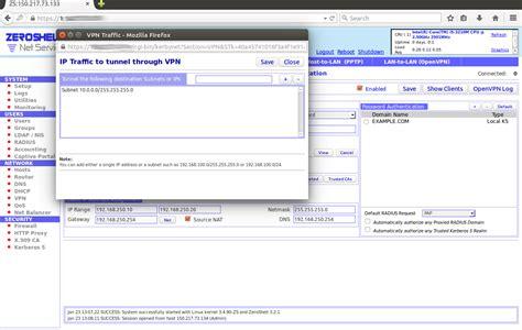 virtualbox rete interna debian su hardware obsoleto vpn host to lan con zeroshell