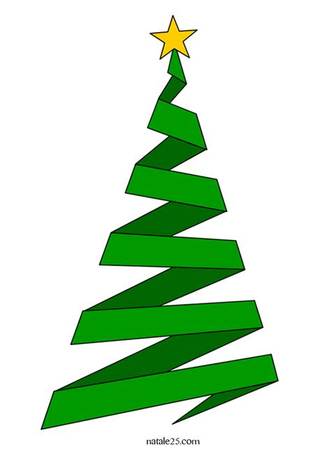 clipart natalizi albero di natale stilizzato clip natale 25