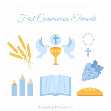 clipart prima comunione communion blue elements vector free
