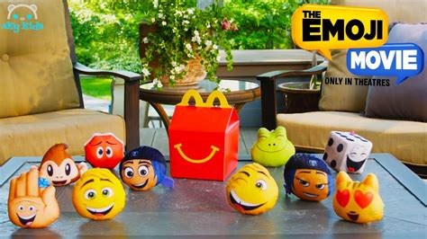 Happy Meal The Emoji Frog mcdonald s happy meal toys from the emoji best of happy meal commercials 1112