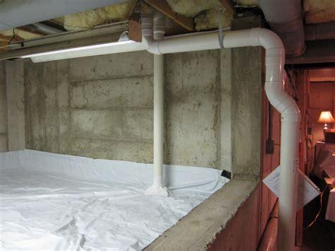 Radon mitigation photos of radon remediation system
