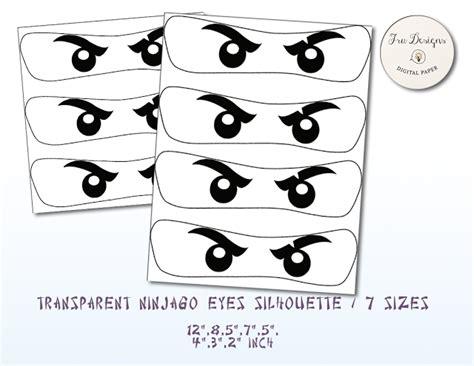 Eye Decorations Ninjago Eyes Frame Ninjago Free Printable Eye Frames