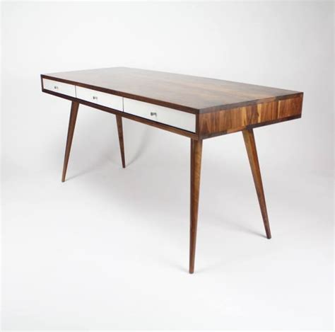 mid century desk l mid century desk with cord management jeremiahcollection