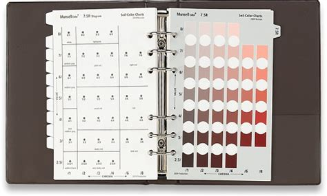 chroma a of many colors books munsell book of soil color charts grup transilvae