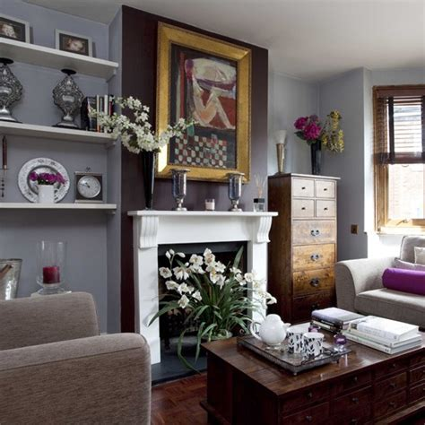 cosy dark grey living room small living room ideas