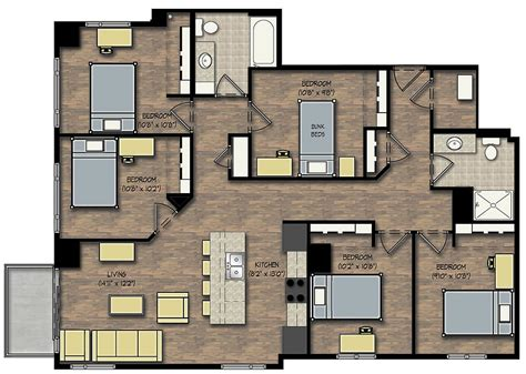 5 Bedroom Apartments by 5 Bedroom Penthouse Boardwalk Investments