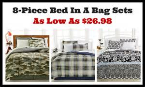 macy bed in a bag macy s 8 piece bed in a bag sets as low as 26 98 ftm