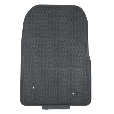 2015 up mazda 3 black rubber all weather floor mats for