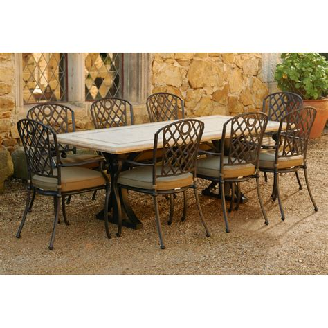 Travertine Patio Table by Positano Travertine Table Many Sizes Available