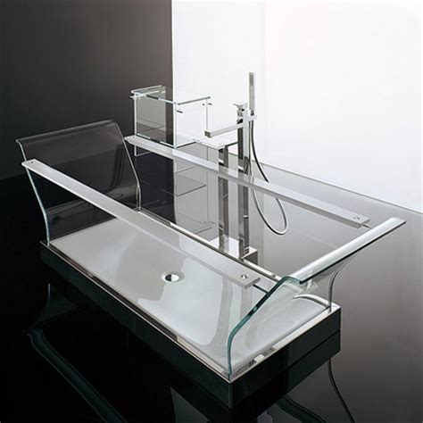 Bathtub Glass by Modern And Creative Bathtub Designs