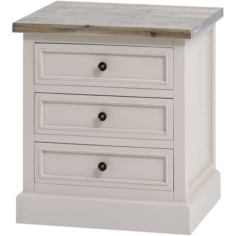 the studley collection 3 drawer side table from hill interiors
