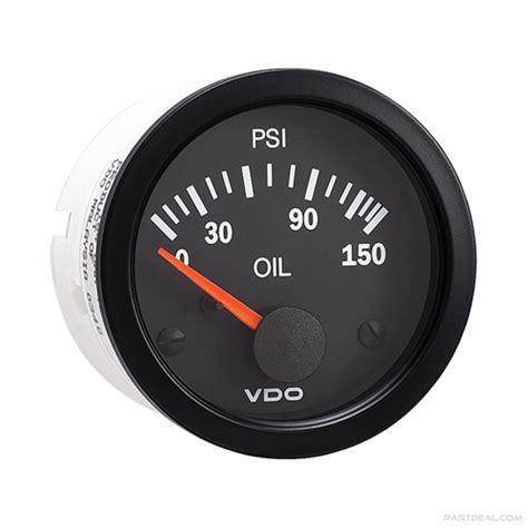 Vdo Presurre Meter vdo engine pressure 0 150 psi seaboard marine