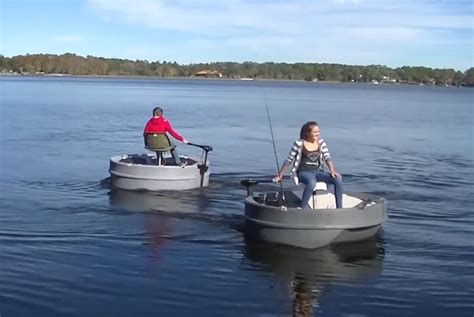 1 person boat bumperboats ultraskiff little round one person boats