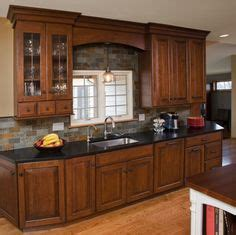 21st century kitchens and cabinets cabinets matttroy stone backsplash colour contrast and maple cabinets on
